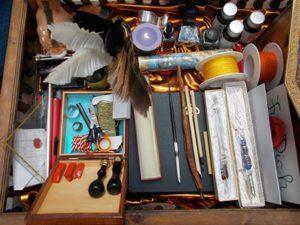 Schreibwerkzeuge aller Art