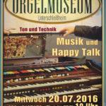 Konzertplakat Orgelmuseum