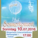 Sommerkonzert Musikschule Unterschleißheim