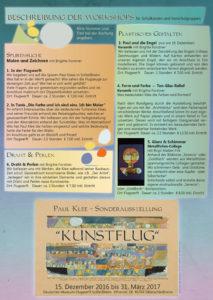 Sonderausstellung Paul Klee Info S1
