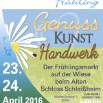 Plakat Schleißheimer Frühling