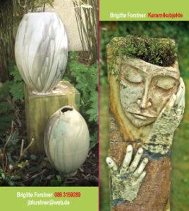 Visitenkarte für Keramikerin