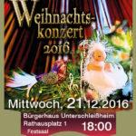 Weihnachtskonzert Musikschule Unterschleißheim