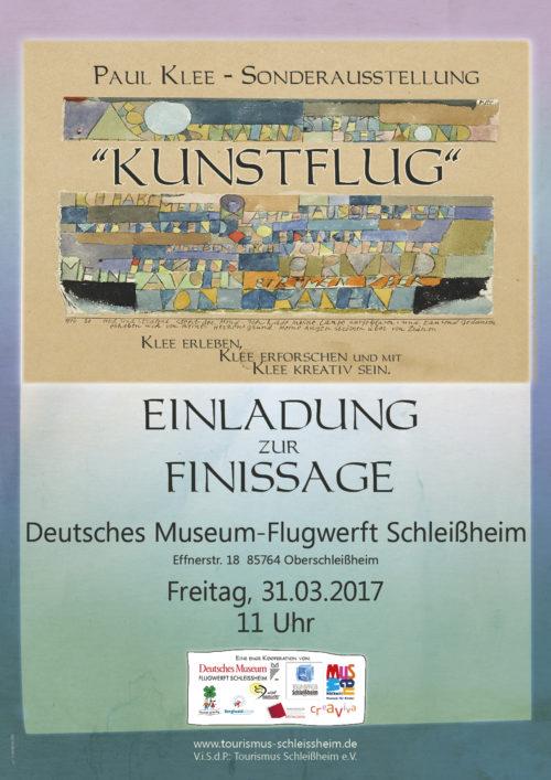 EInladung Finissage Paul Klee Sonderausstellung 2017