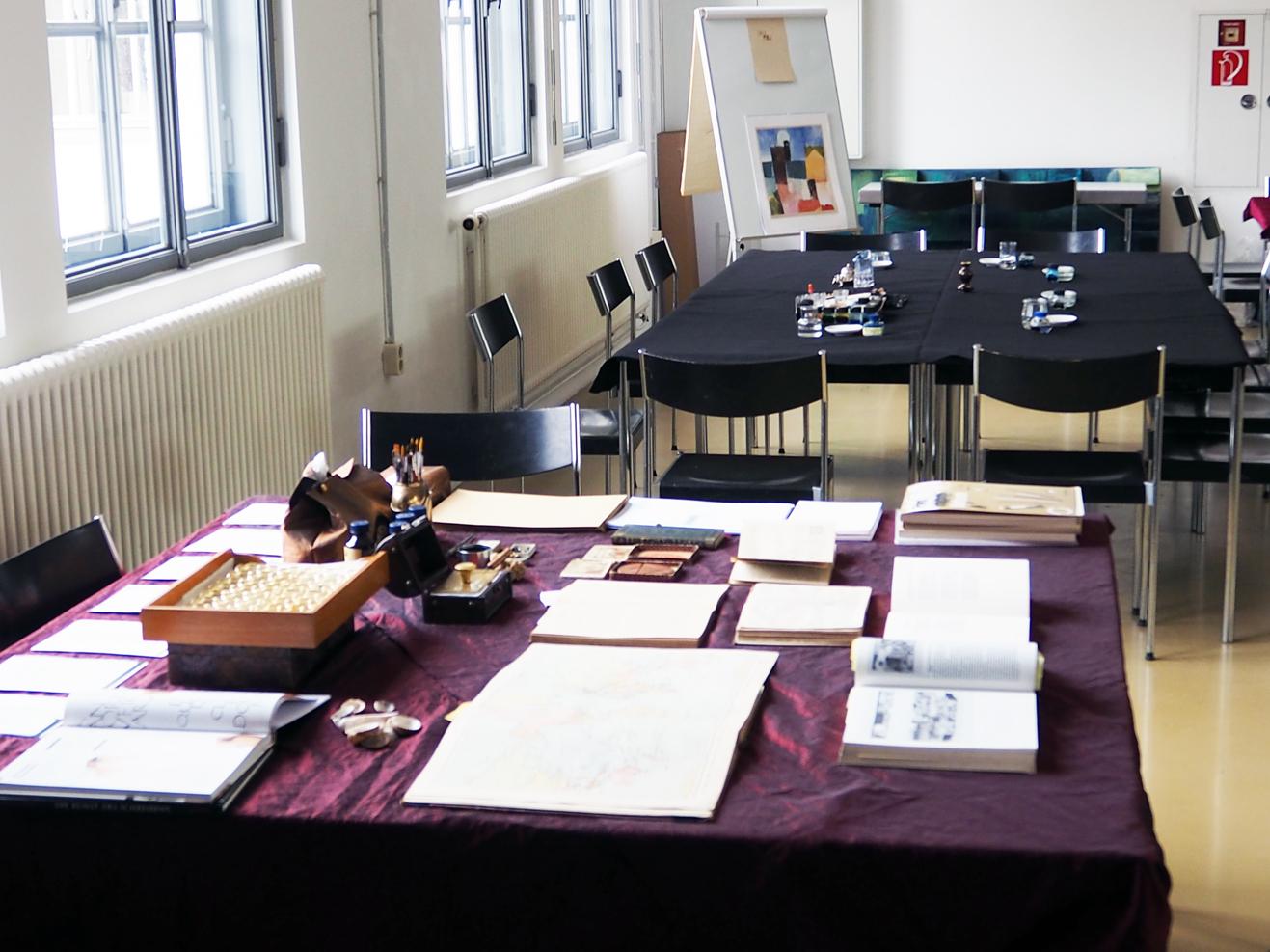 Schreibsaal in der Flugwerft Schleißheim