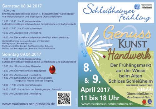 Programm Schleißheimer Fühling 2017