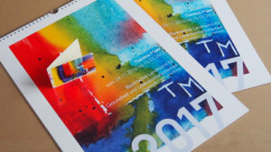 Kalender und Visitenkarte für Künstlerin