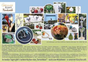 Flyer Ausstellerverzeichnis Schleißheimer Frühling