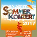 Sommerkonzert 2017 Musikschule Unterschleißheim