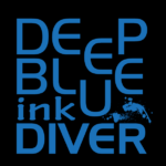 deep blue ink