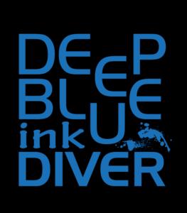 deep blue ink