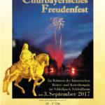 Churbayerisches Freudenfest 2017. Gestaltung von Plakat und Programflye.Grafische Überarbeitung und Vorbereitung für den Auflagendruck Portfolio 20-seitig.r