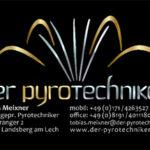 Visitenkarte für Pyrotechniker. Umsetzung des Logos nach Kundenwunsch.