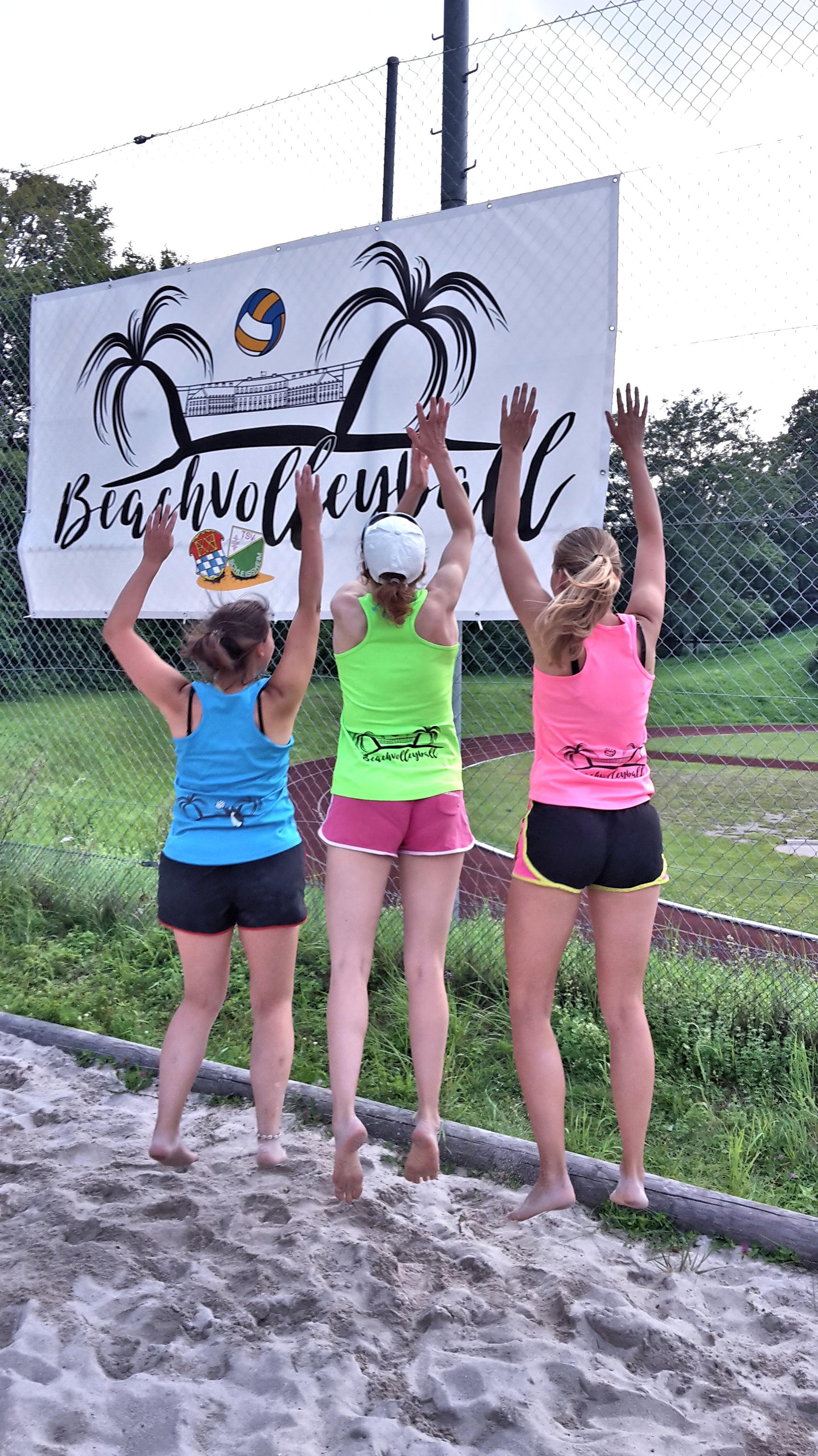 Banner und Trikots für Beachvolleyballgruppe TSV-Schleissheim
