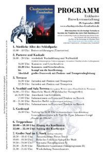 Churbayerisches Freudenfest, Programm 2018, Barock, Churbayerisches Freudenfest, Churbayern, Dr. Marcus Junkelmann, Turnierkantate, Feuerwerk, Kavallerie, Kurfürst Max Emanuel, Oberschleißheim, Schloss Schleißheim, Tanz
