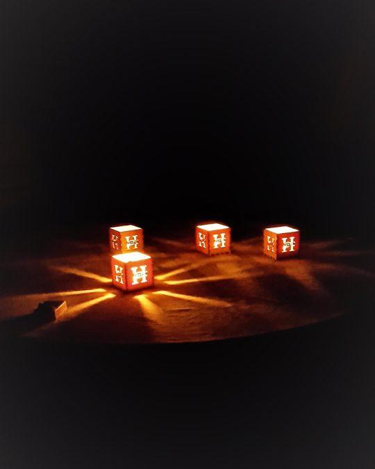 Lasercut Teelichthalter individuell