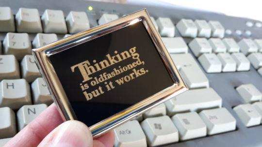 Lasercut Motivation