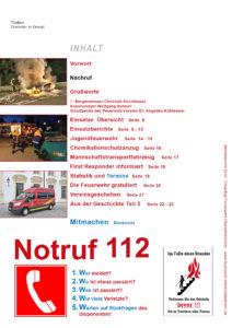 Jahresbericht für Freiwillige Feuerwehr Oberschleißheim. Layout und Druckabwicklung des Heftes seit 2014. 24 Seiten.