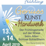 Schleißheimer Frühling. Plakat für print und web.