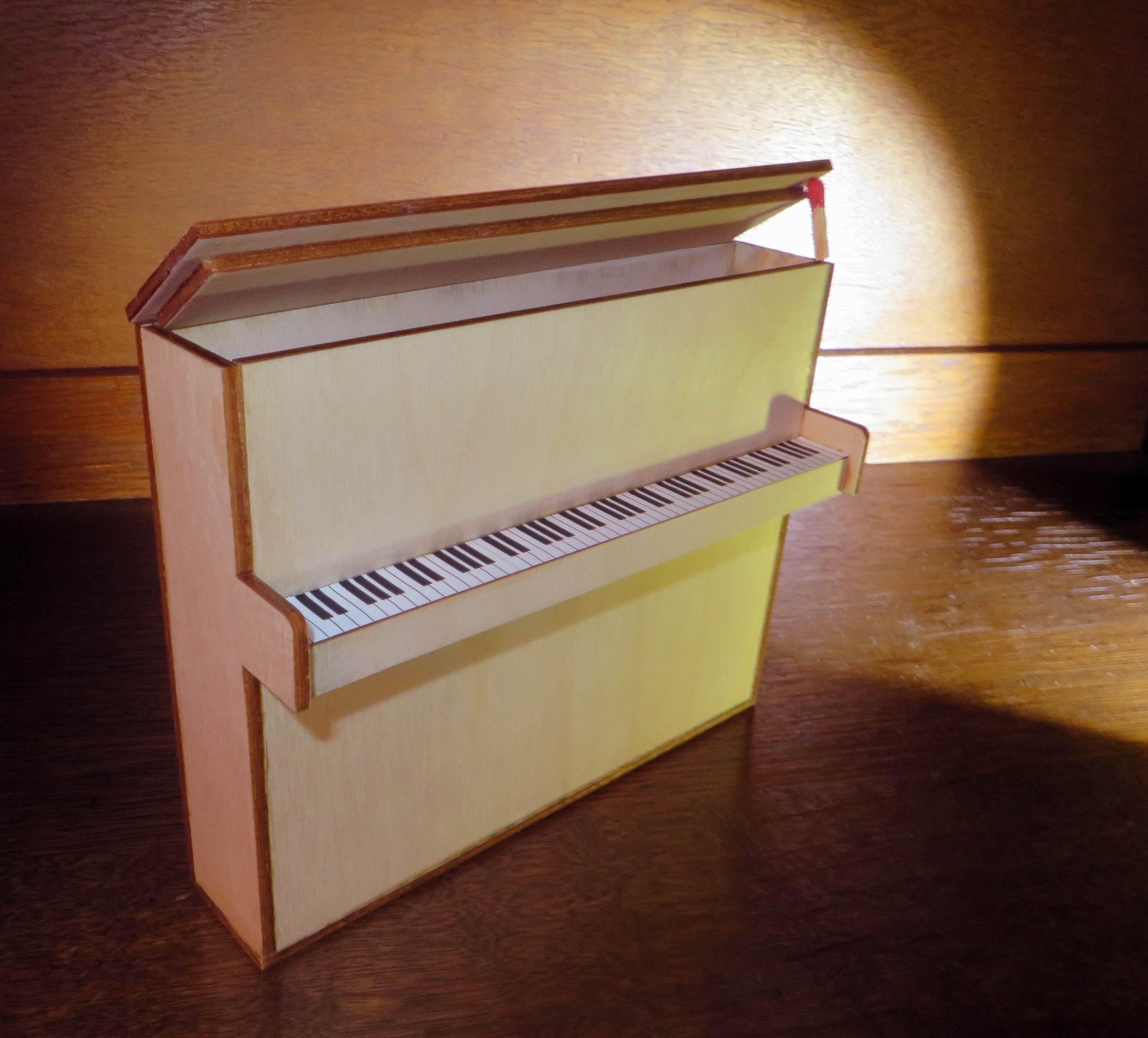 Lasercut Geschenkbox