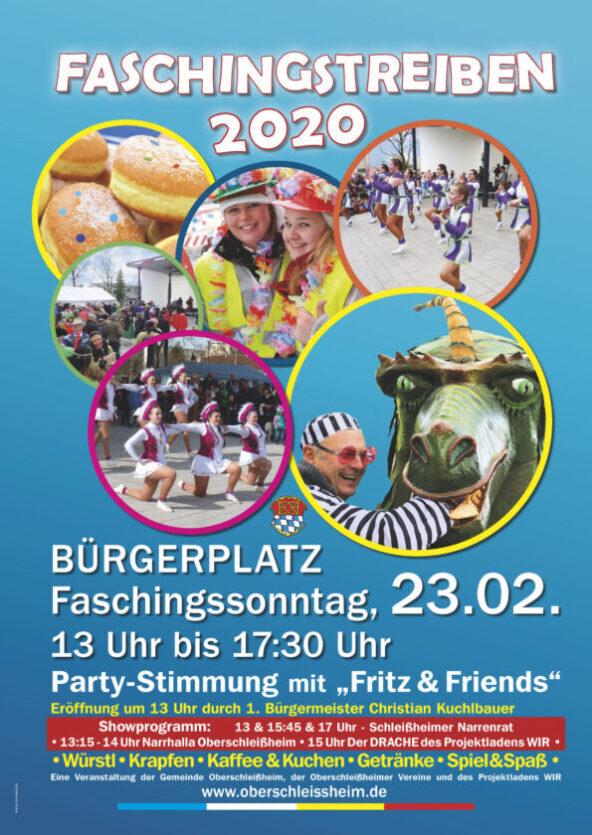 Faschingstreiben Oberschleißheim 2020