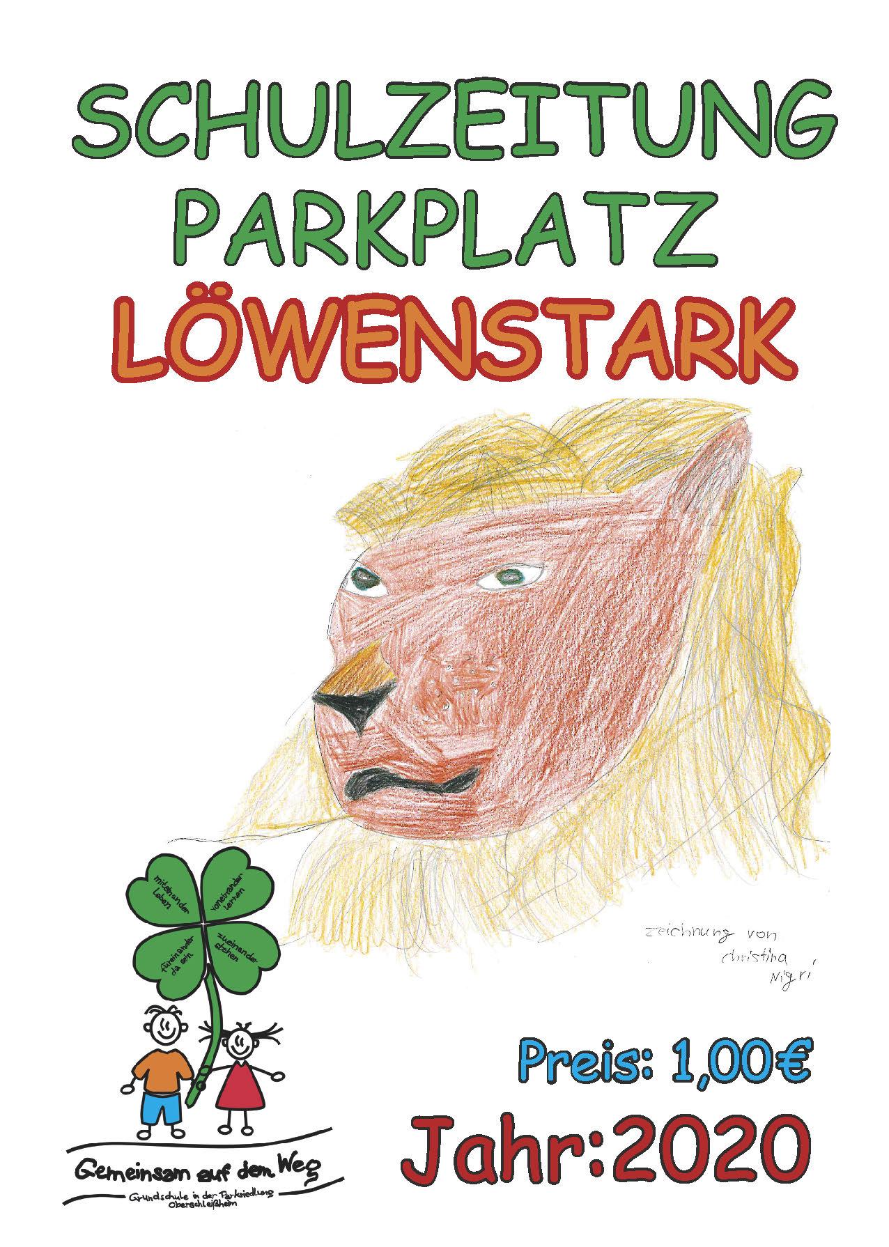 Cover Schluzeitung PARKPLATZ 2020