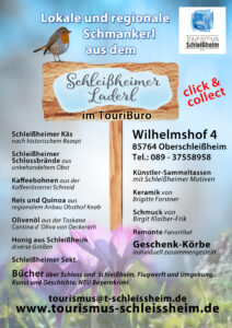 Info-Plakat Schleißheimer Laderl 2021