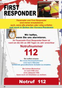 Seite aus Jahresbericht Feuerwehr Oberschleissheim